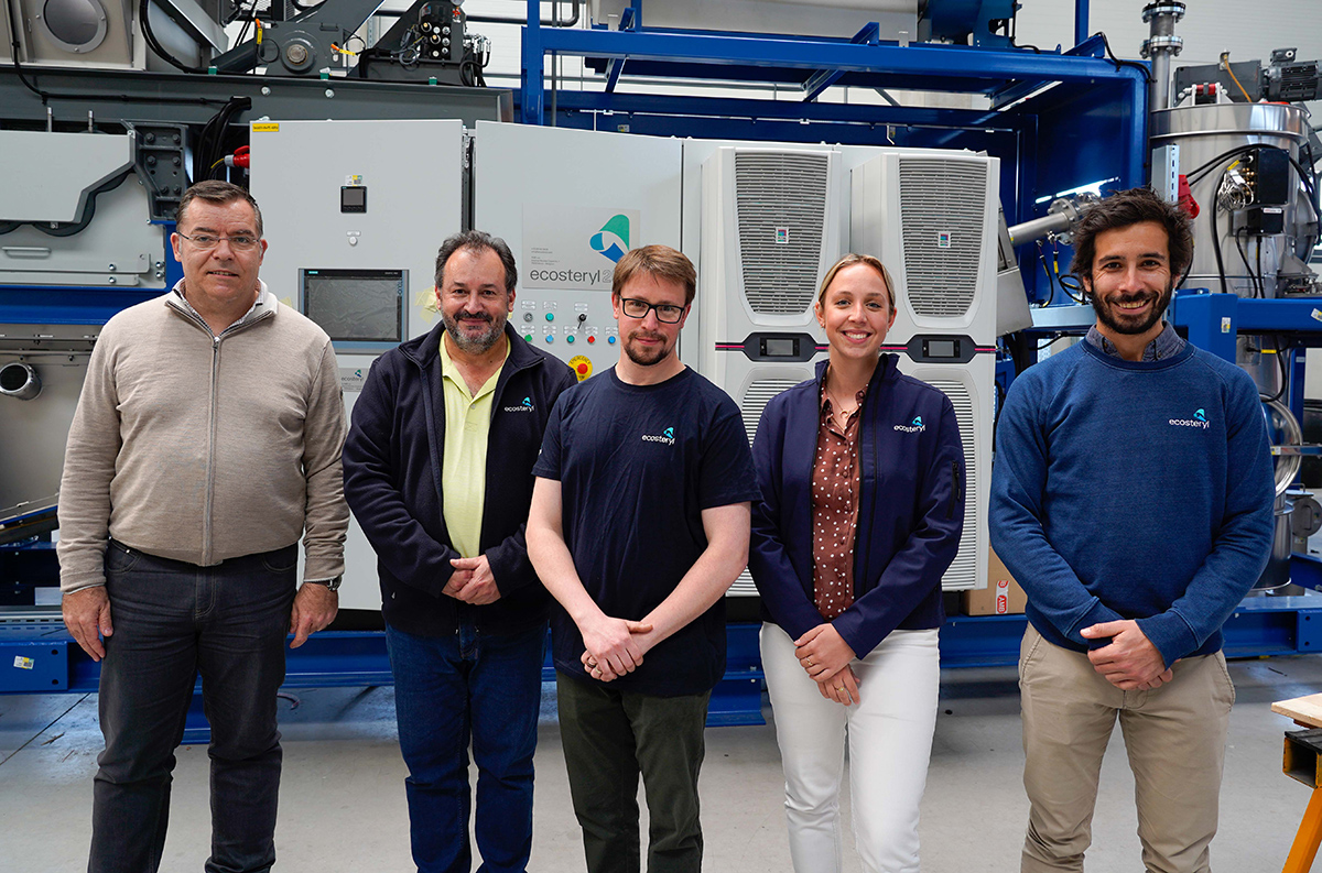 Equipe R&D et diversification Ecosteryl